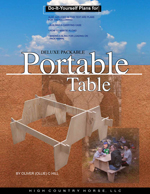 Doityourself Plans For Packableportable Table